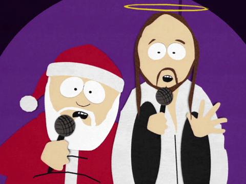 Христос и Санта