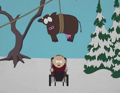 Марвин Марш и корова