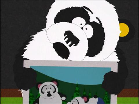 Панда-сексуальное домогательство